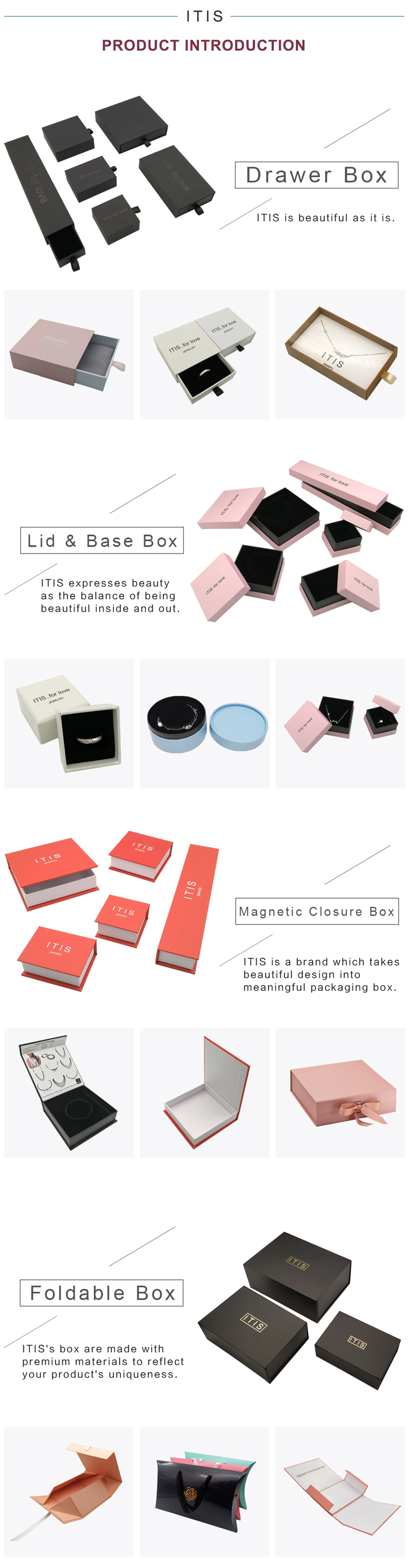 luxury jewelry box packaging