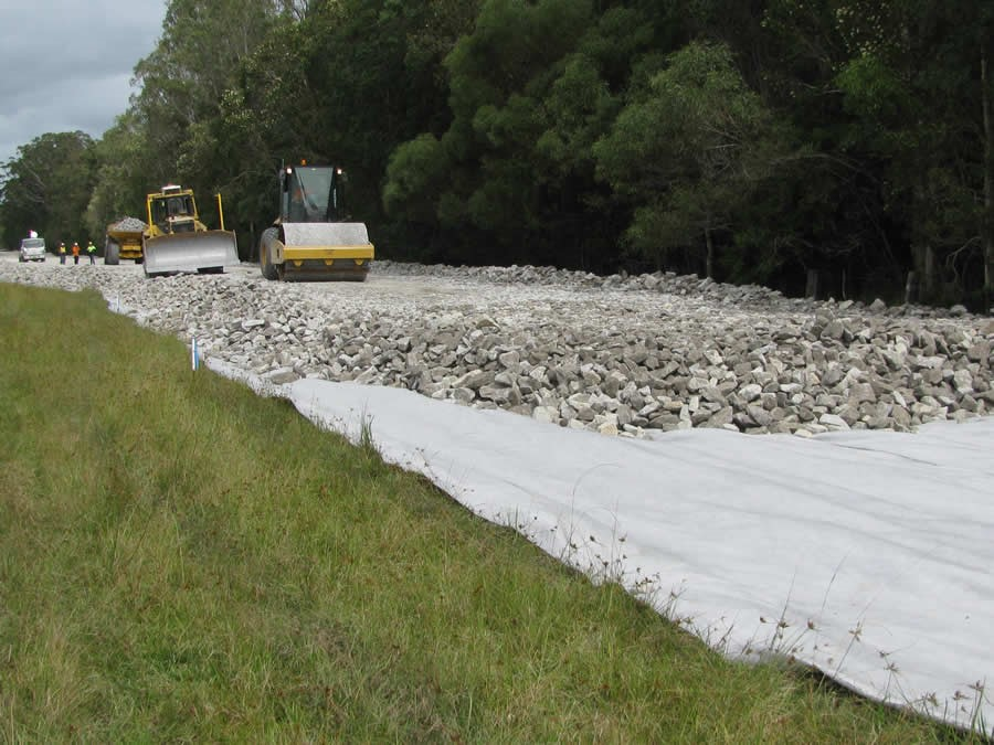 Geotextile made in China for exporting