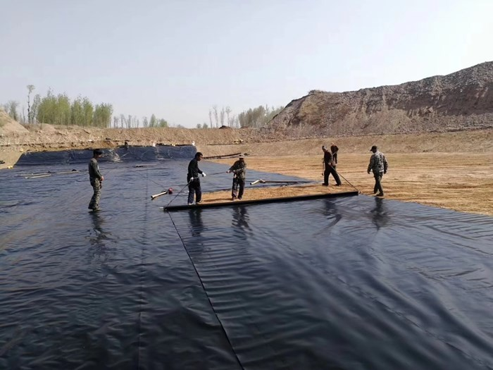 Anti-Seepage Membranes Continuously Used in New Water Control Project