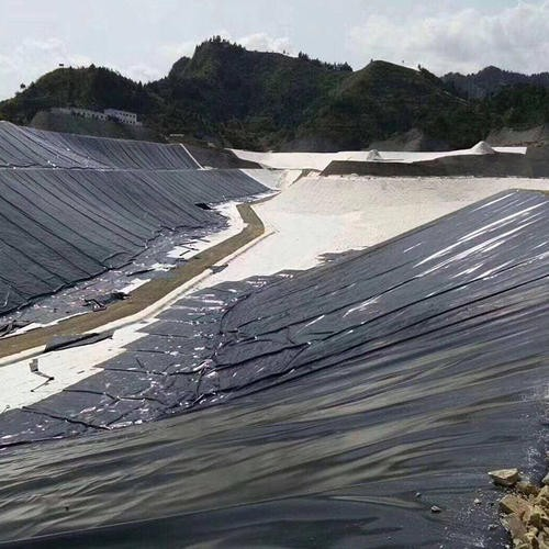Jiantong Geomembrane in a New Municipal Landfill Project