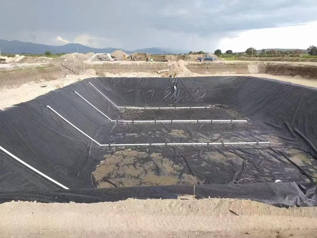 ang aplikasyon ng pond liner sa proyekto ng landfill sa Lalawigan ng Shanxi