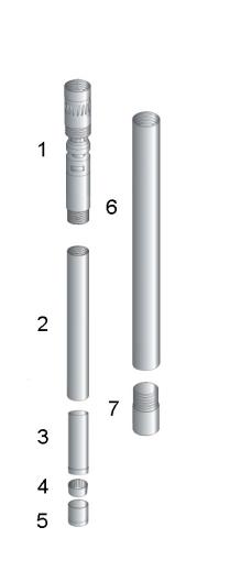 T2-76 diamond drilling core barrel