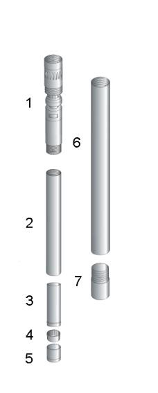 T2-86 diamond drilling core barrel