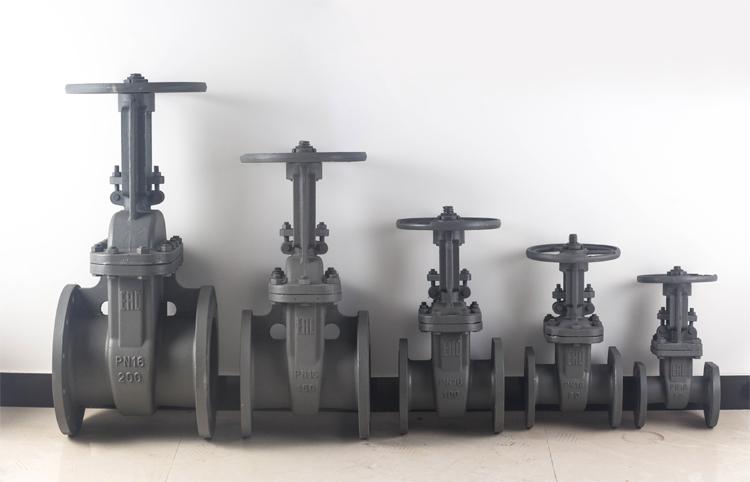 Brand gate valve