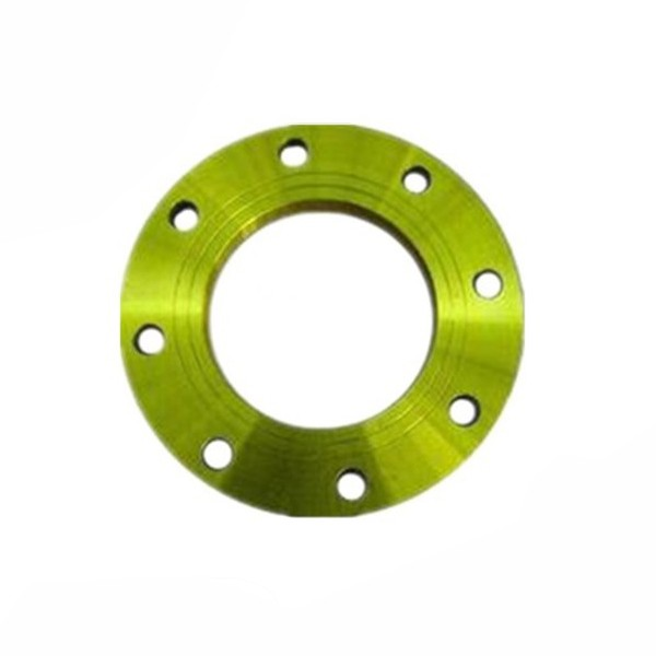 JIS10K Yellow Painting FF Casting Carbon Steel Flanges In Hebei