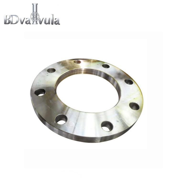 Bride en acier au carbone DIN2502 PN16 FF (plaque / flate)