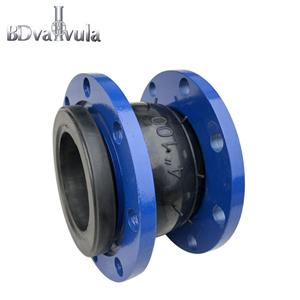 Sprayed Flange Single Sphere Rubber Flexible Joint Body EPDM