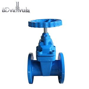 Carbon Steel Resilient Flanged Brass Sealing Gate Valve