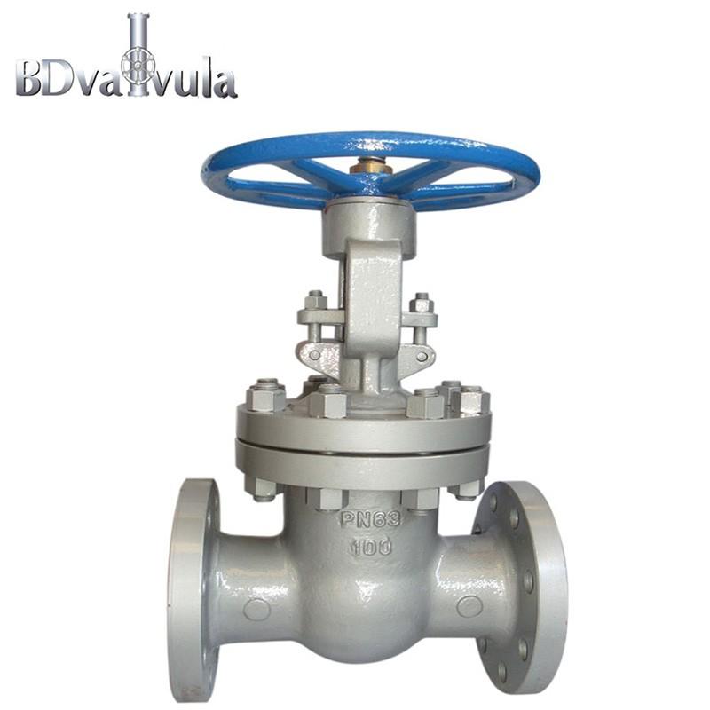 GOST standard gate valve PN16 used in water