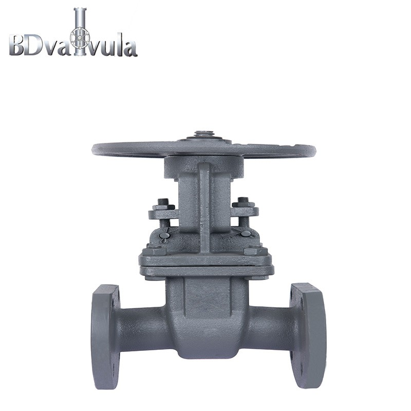 Gost gate valve Z41H carbon steel PN16 used in water