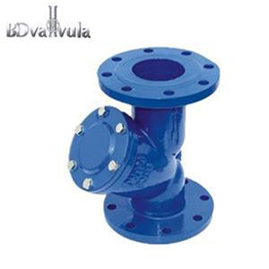 flanged strainer Y type ductile iron strainer