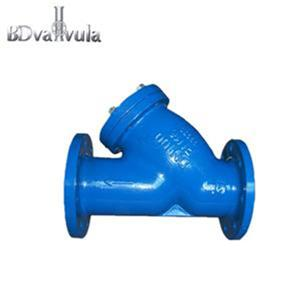 Cast iron flanged ends WCB Y strainer used in water