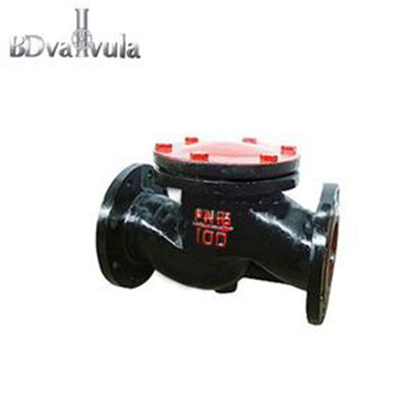 Cast check valve black cast iron