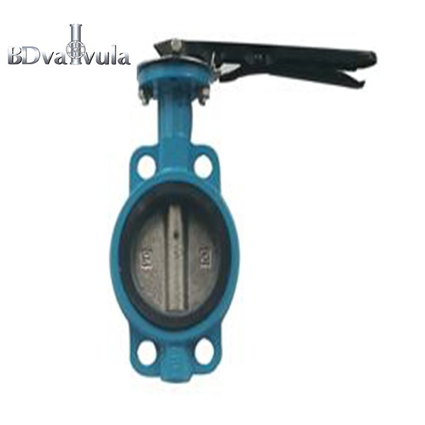 PN16 EPDM Ductile Iron Wafer Butterfly Valve