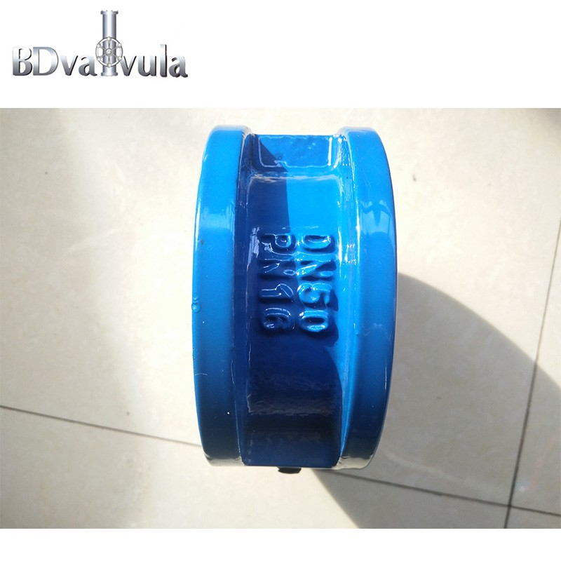 Ductile iron PN16 wafer type check valve Manufacturers, Ductile iron PN16 wafer type check valve Factory, Supply Ductile iron PN16 wafer type check valve