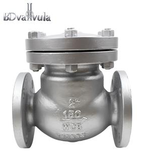 Swing type flanged DN50 Class150 stainless steel check valve