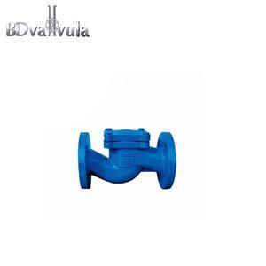 carbon steel lift type flange end check valve for PN16
