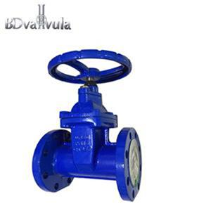 DIN F4 gate valve water soft sealing cast iron gate valve 2 inch PN16
