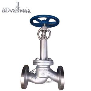 J41W stainless steel low temperature globe valve