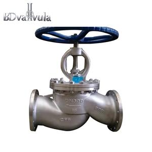 CF8Stainless steel flange globe valve