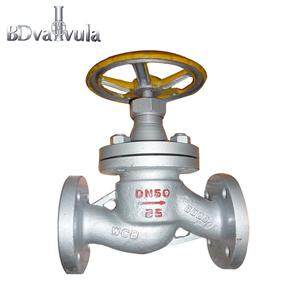 DN50Stainless steel globe valve WCB for natural gas