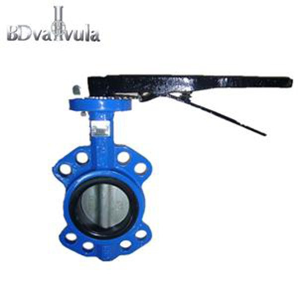 Ductile Iron Wafer Type EPDM Butterfly Valve