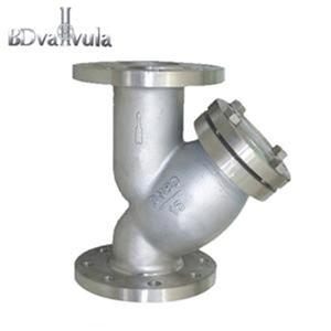 Cast Iron Y Type Flanged Strainer-2