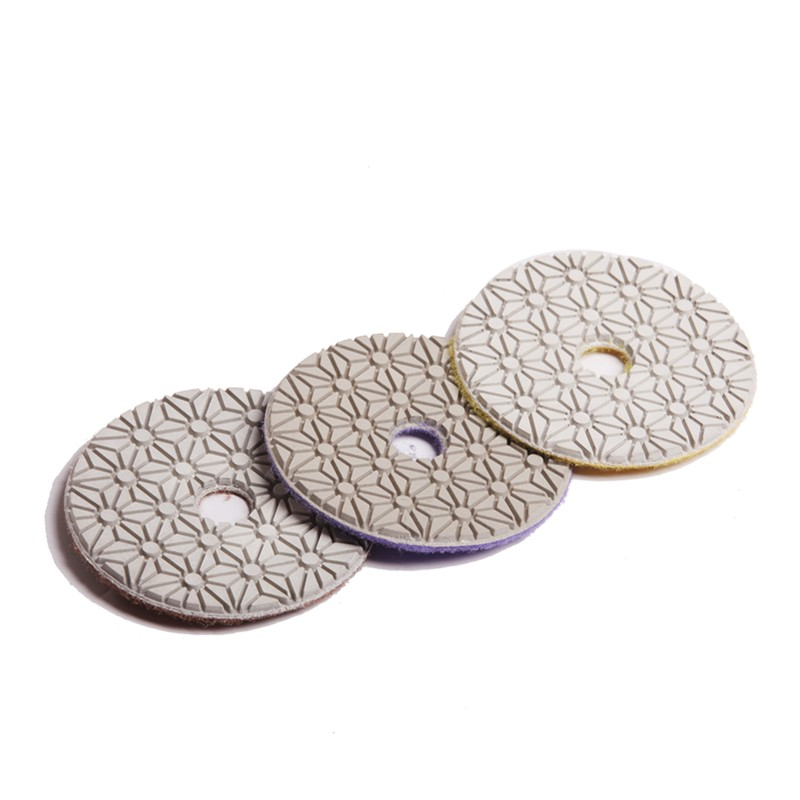 3 Steps Diamond Polishing Pads
