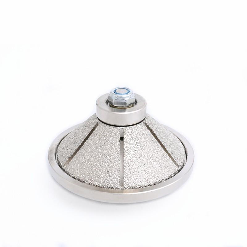 Dijelovi usmjerivača dijamanta s vakuumom