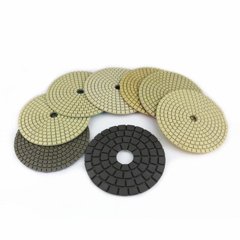 Diamond Flexible Polishing Pads Dry Use