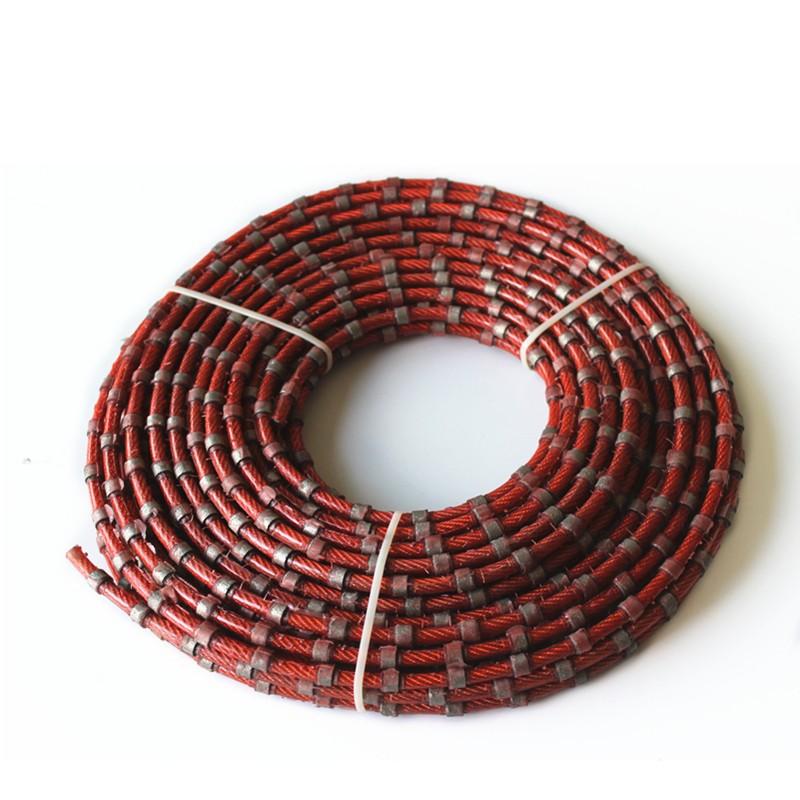 Alambre de diamante para cuadratura de bloque de granito