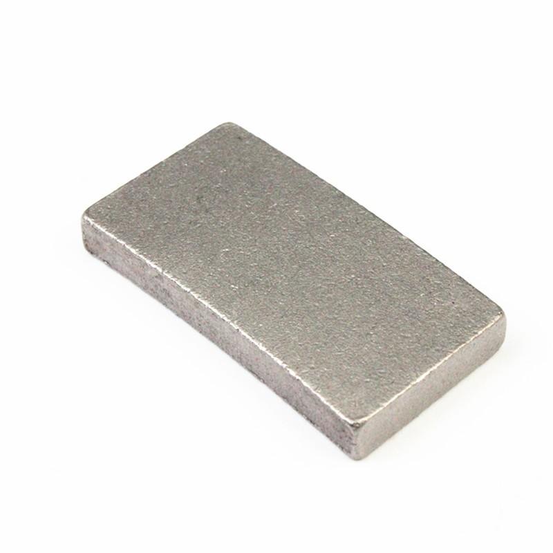 Segment de diamant pour la coupe de bord volcanique