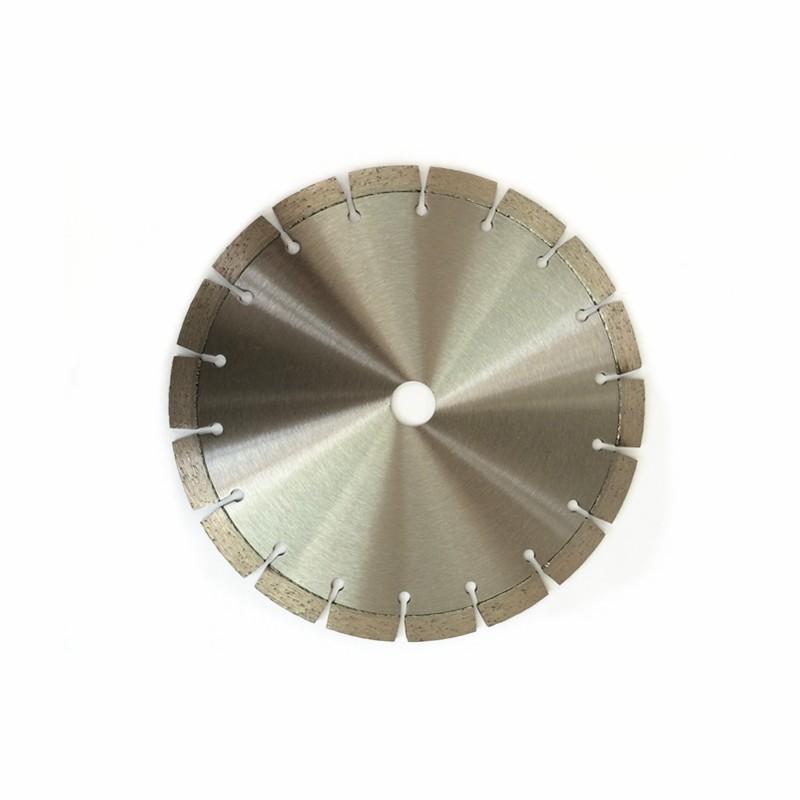 Disco de diamante segmentado corte en seco