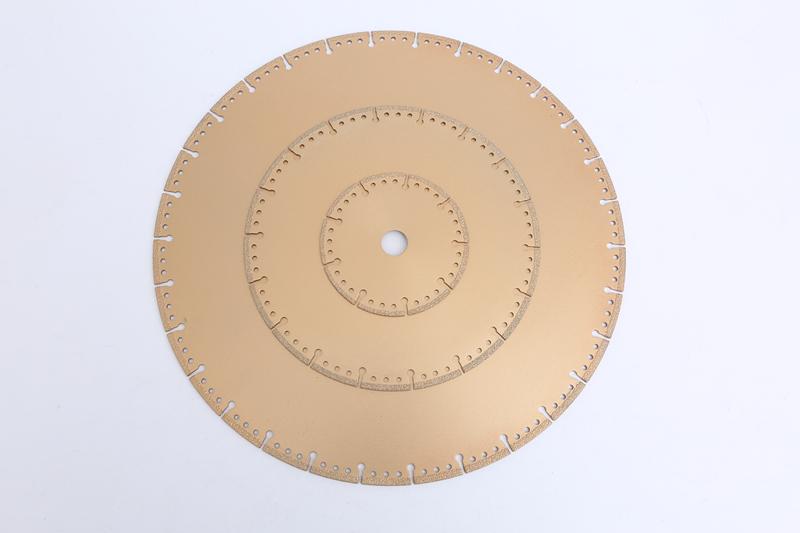 vacuum brazed diamond disc