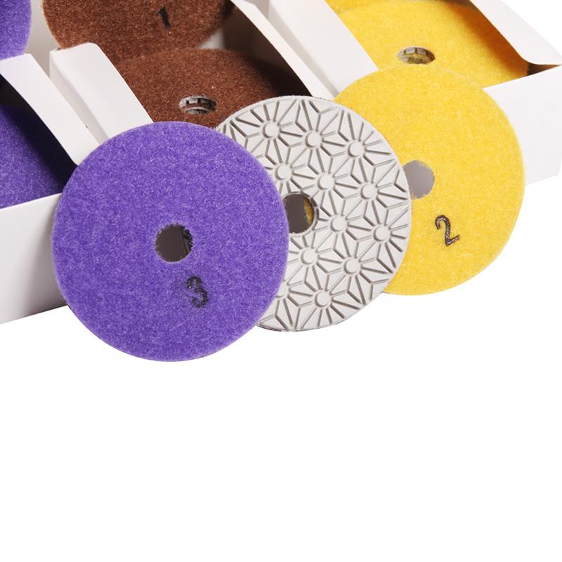3 steps polishing pads