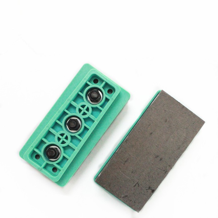 Manuel MBD Diamond Block for Granite Polishing Small Diamond Fickert Diamond Abrasive L125mm Plastic Base
