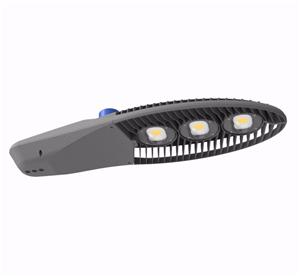High power LED street light with photocell