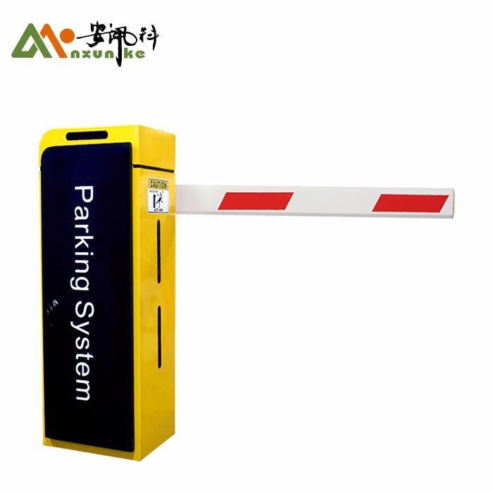 Parking Arm Boom Barrier Gate With LED Light