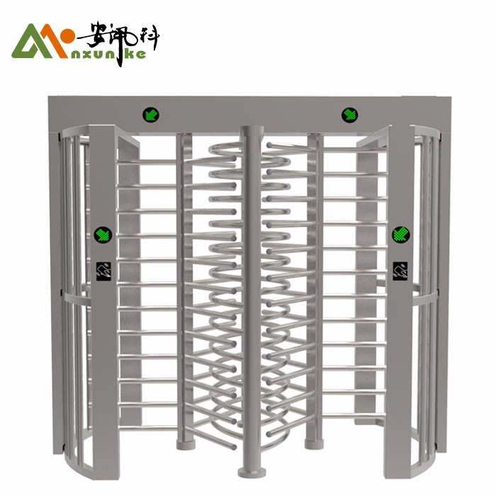 Electronic Full Height Turnstile With RFID Card Reader