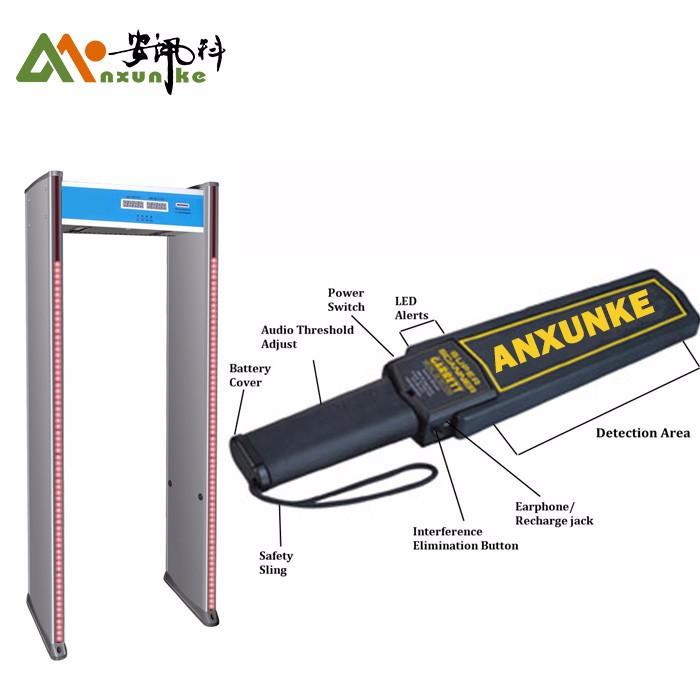 Металлический детектор прохождения через ворота безопасности