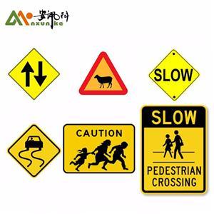 Aluminum Customize Warning Traffic Signs