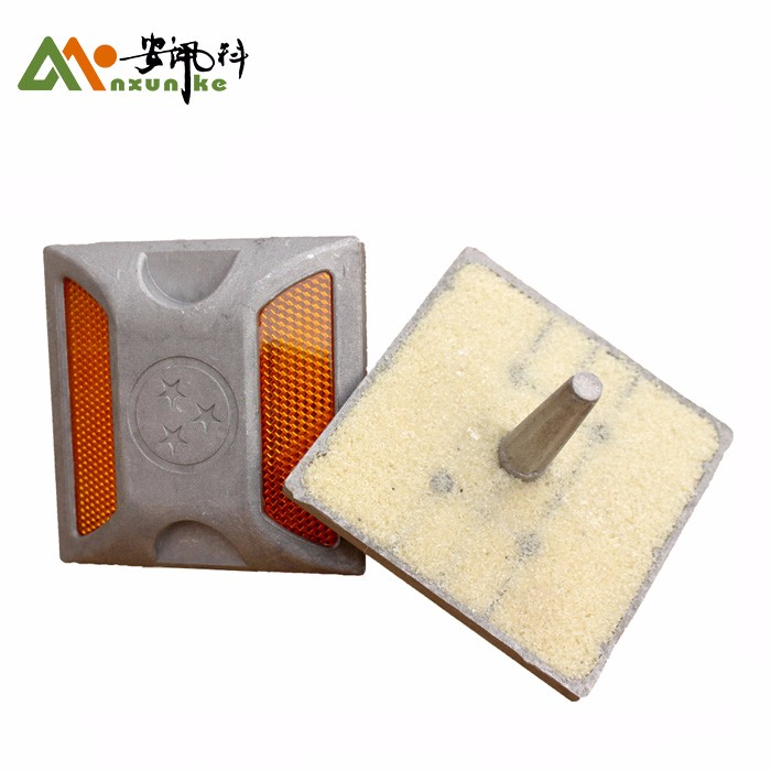Plastic Reflective Pavement Reflector ABS Road Stud
