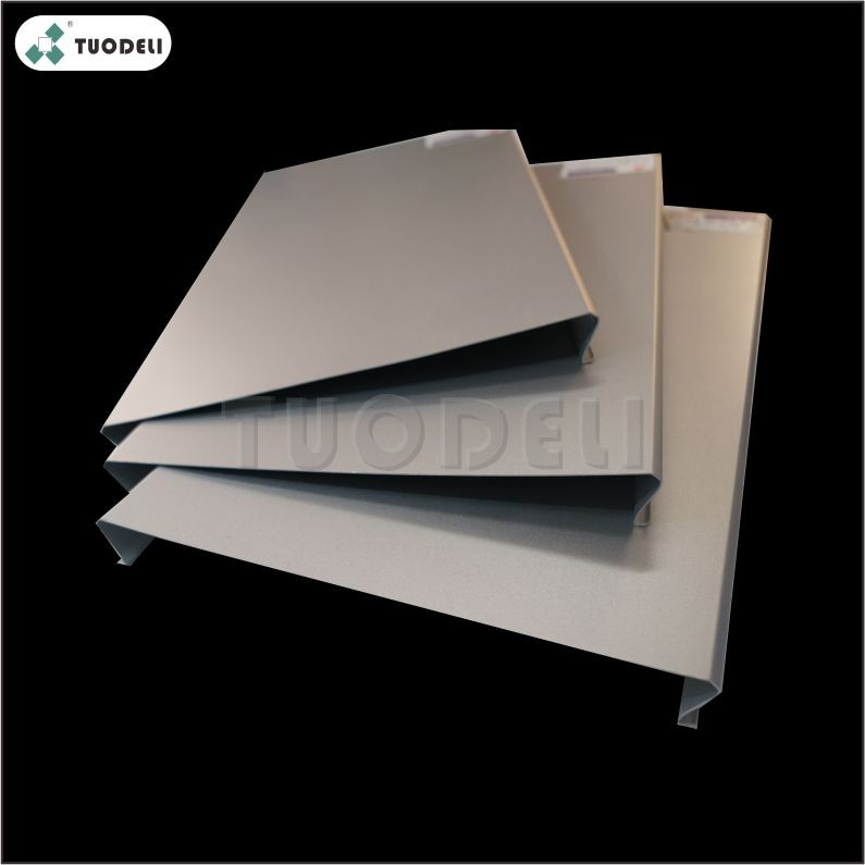 Aluminum 600mm C-shaped Wind-resistant Linear Ceiling System