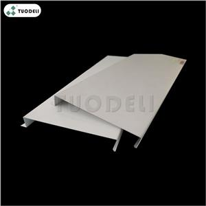 Aluminum 400mm H-shaped Closed Linear Ceiling System
