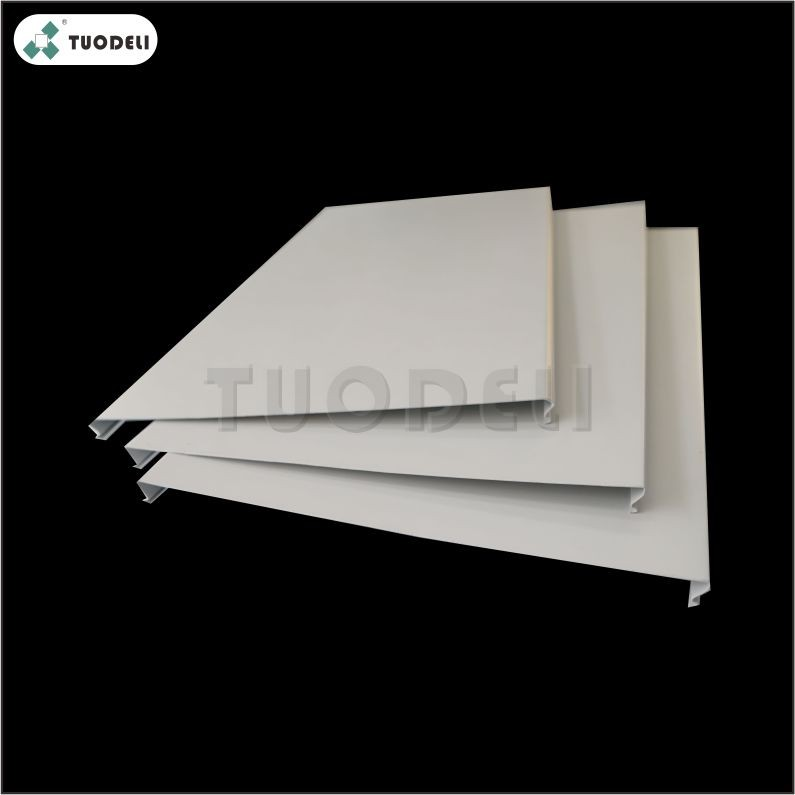 Aluminum 300mm C-shaped Closed Linear Ceiling System