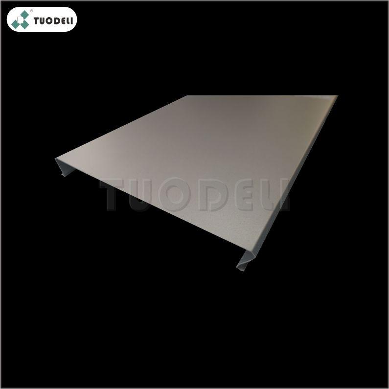 알루미늄 300mm C 자형 내풍 선형 천장 시스템