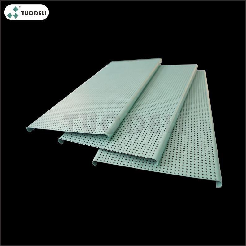 Aluminum U-shaped Linear Ceiling System