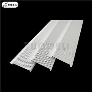 Aluminum 300mm G-shaped Linear Ceiling System