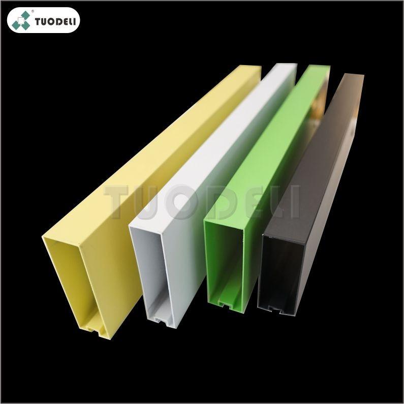 Aluminum Quadrate-pipe Baffle Ceiling System