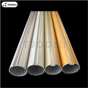 Aluminum O-shaped Pipe Baffle Ceiling System